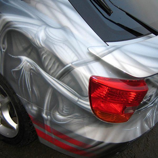 Аэрография Toyota Celica