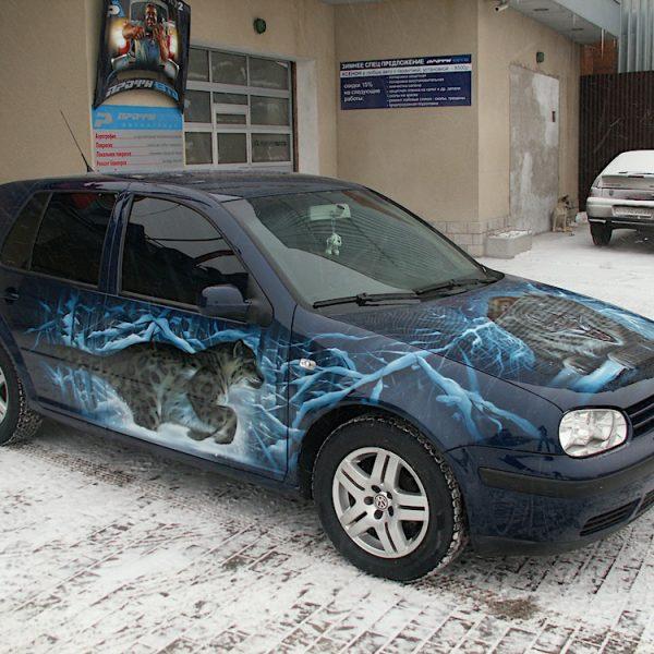 Аэрография на VW
