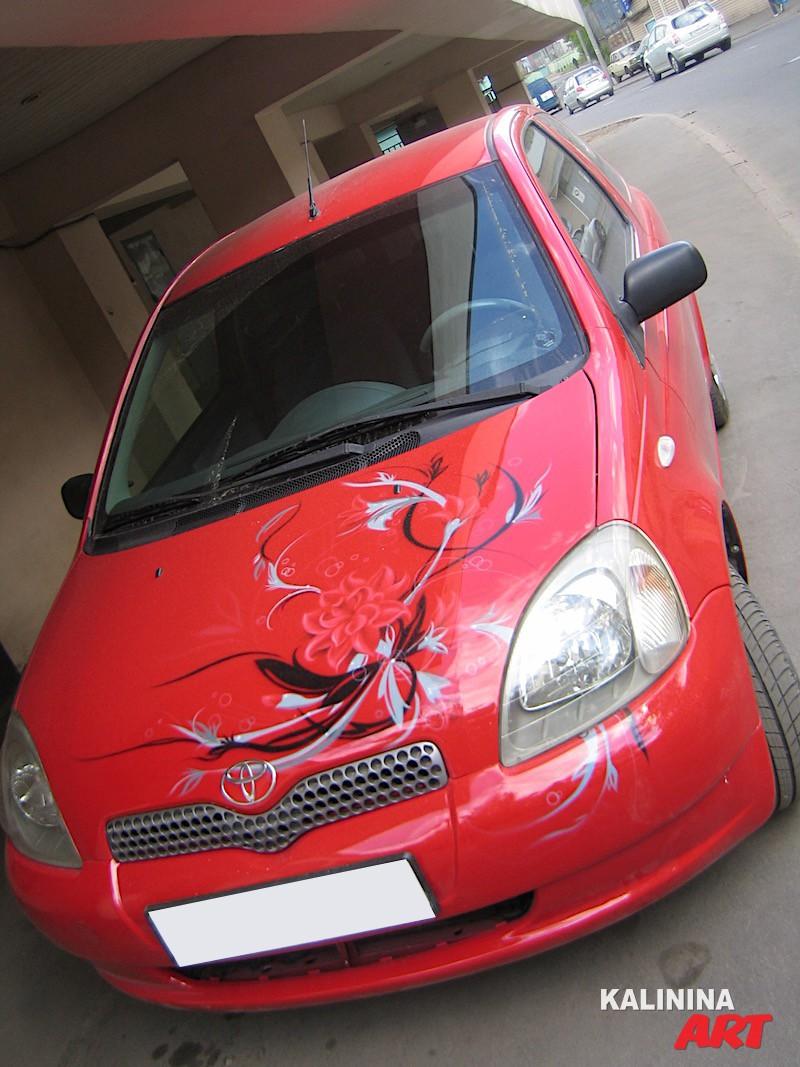 Роспись Toyota Yaris