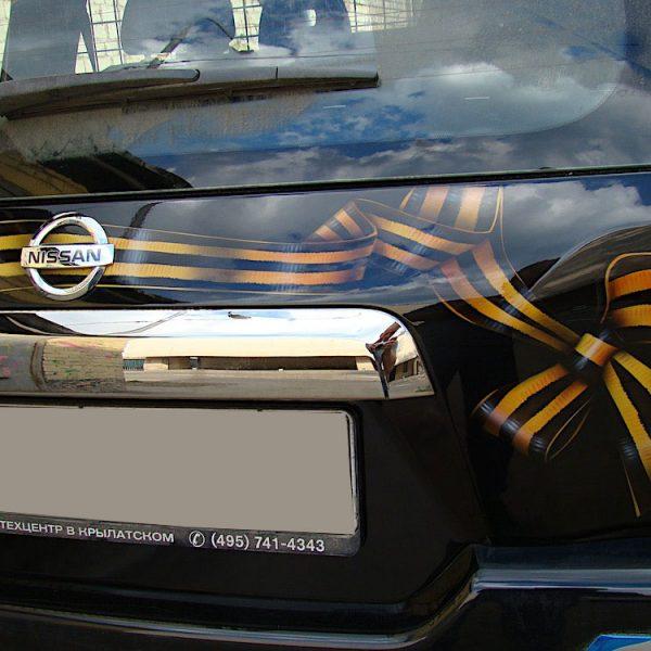 Аэрография на Nissan